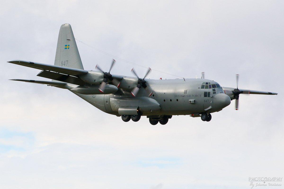 84007 Swedish Air Force Lockheed Tp84 Hercules, 14.09.2017