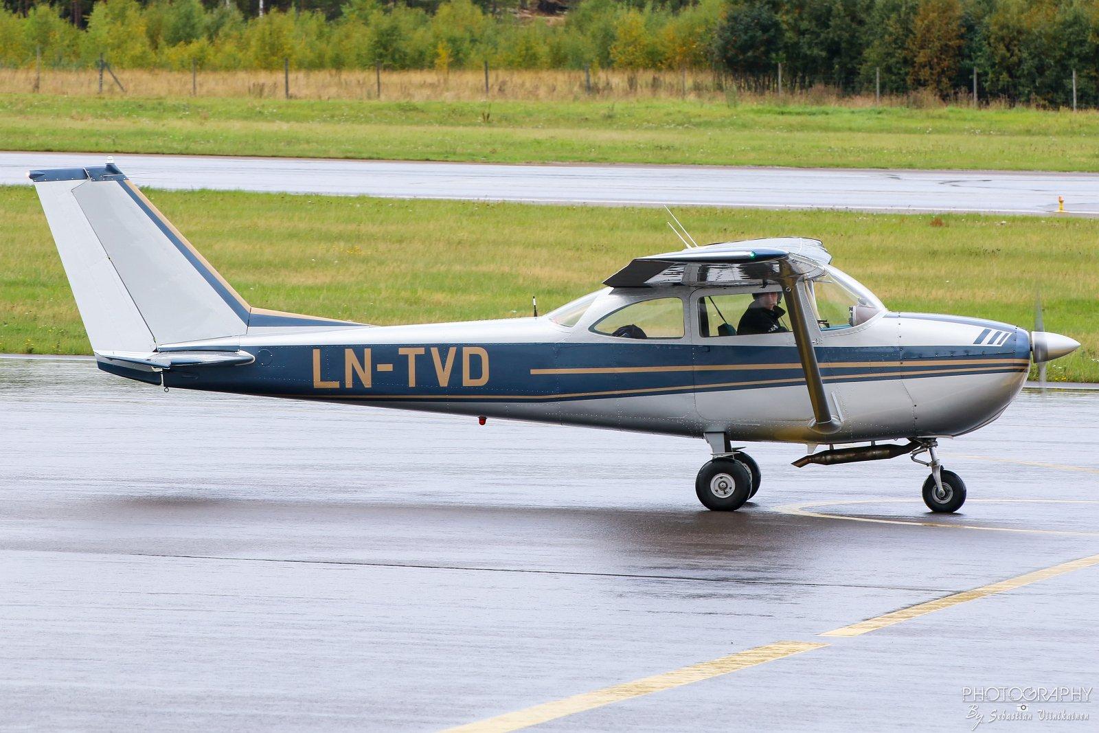 LN-TVD Cessna 172D, 16.09.2017