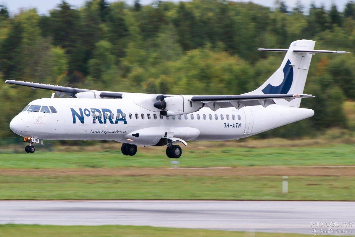 OH-ATN Norra ATR 72-200, 16.09.2017
