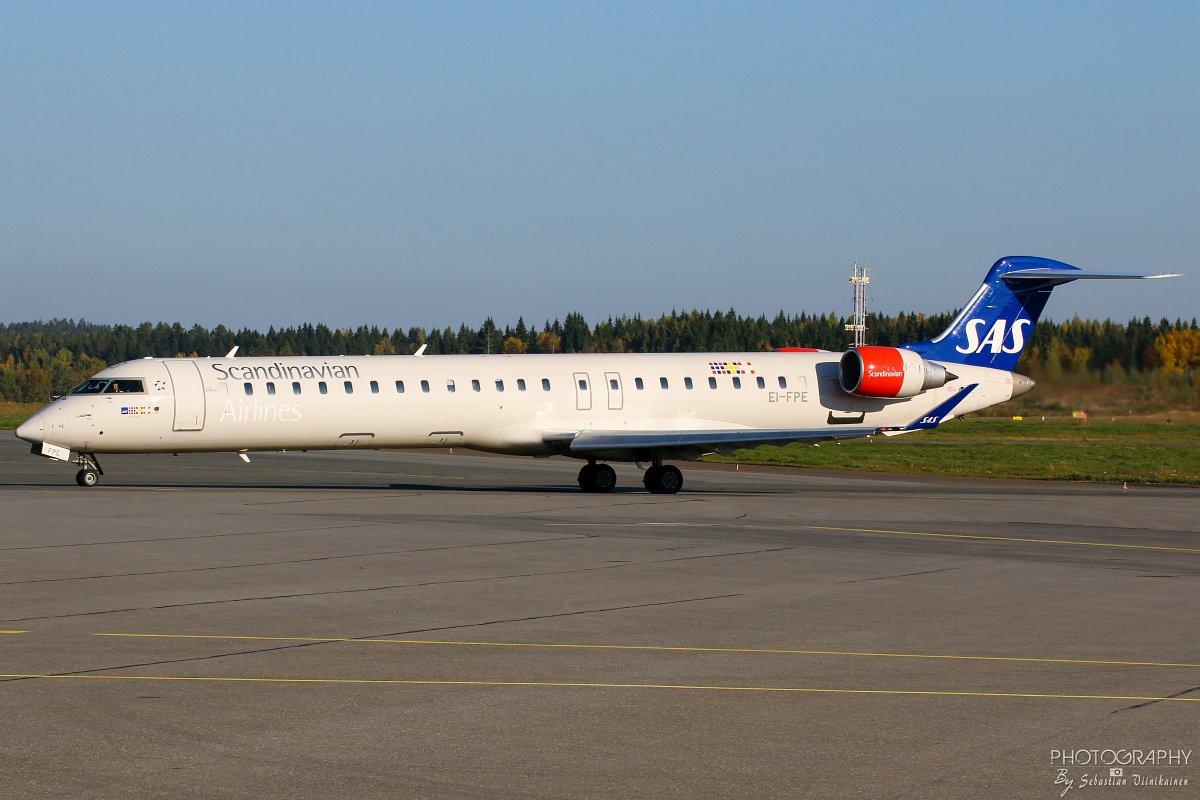 EI-FPE SAS Canadair CRJ-900, 25.9.2017