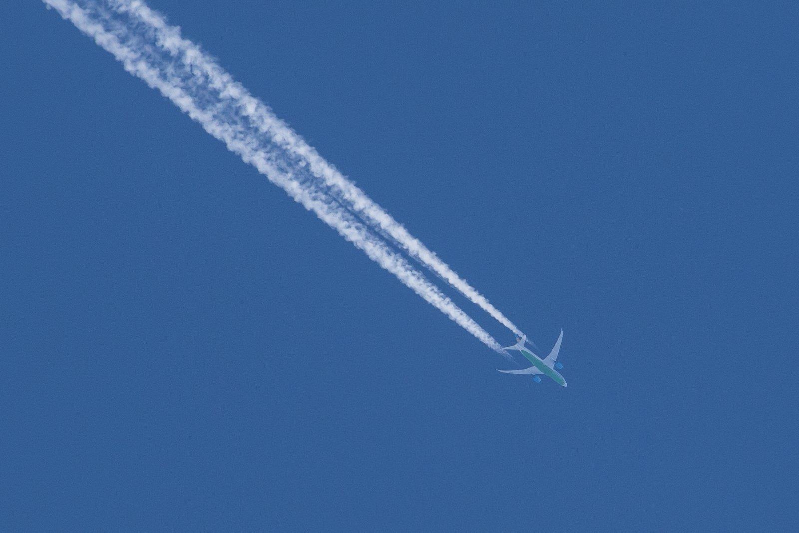 UK-78701, Boeing 787-8 Dreamliner. Uzbekistan Airways. Tashkent-New York reitillä.
