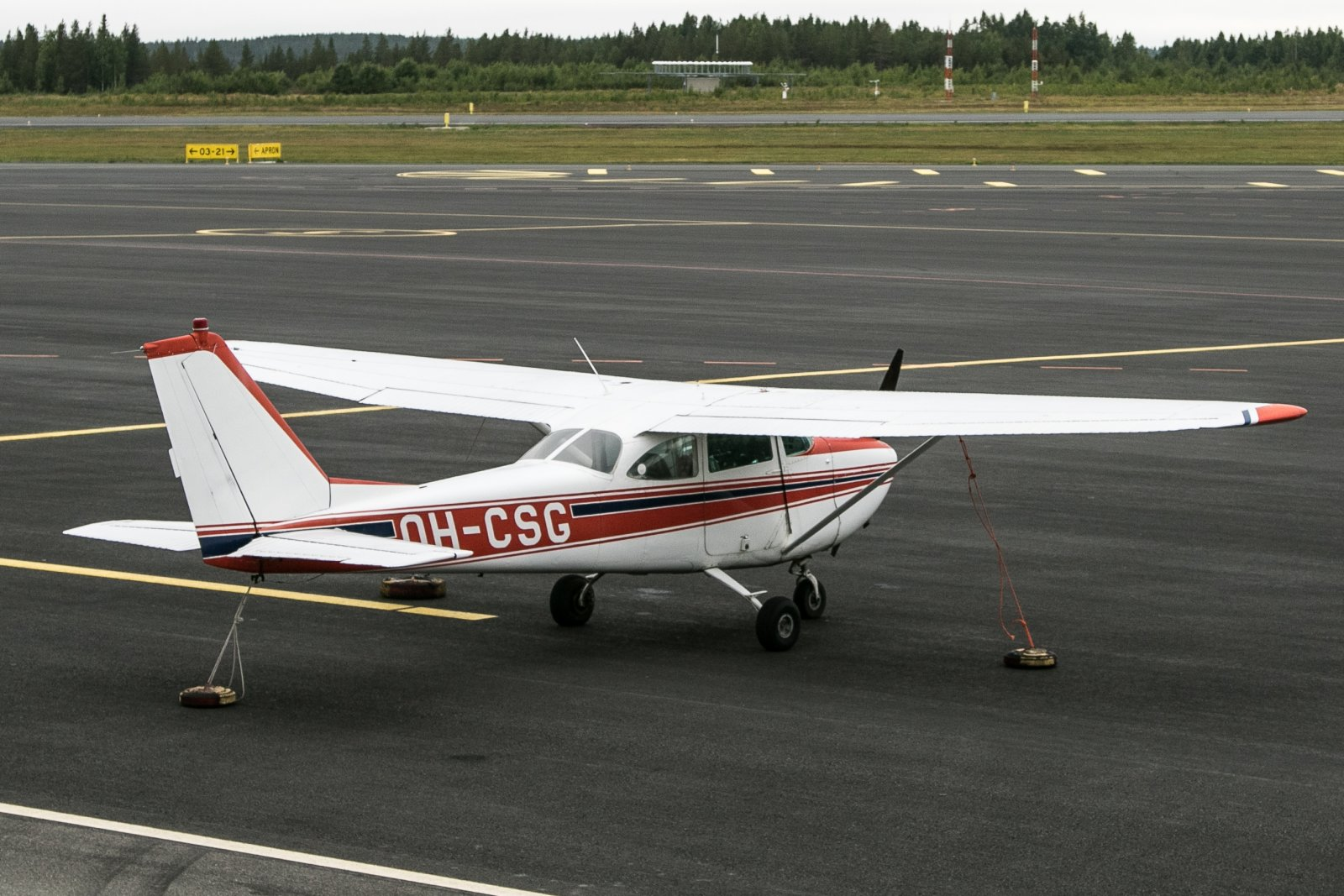 OH-CSG, Cessna 172 F