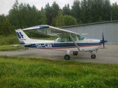 Cessna C-172N OH-CAV EFHN 2017-09-02
