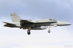 HN-425 Suomen Ilmavoimat F-18C Hornet, 14.9.2017