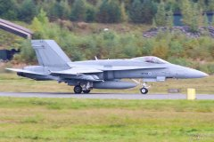 HN-444 Suomen Ilmavoimat F-18C Hornet, 14.9.2017
