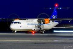 G-FBXB SAS ATR72-600, 18.9.2017