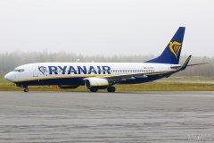 EI-DPK Ryanair B737-800, 29.09.2017