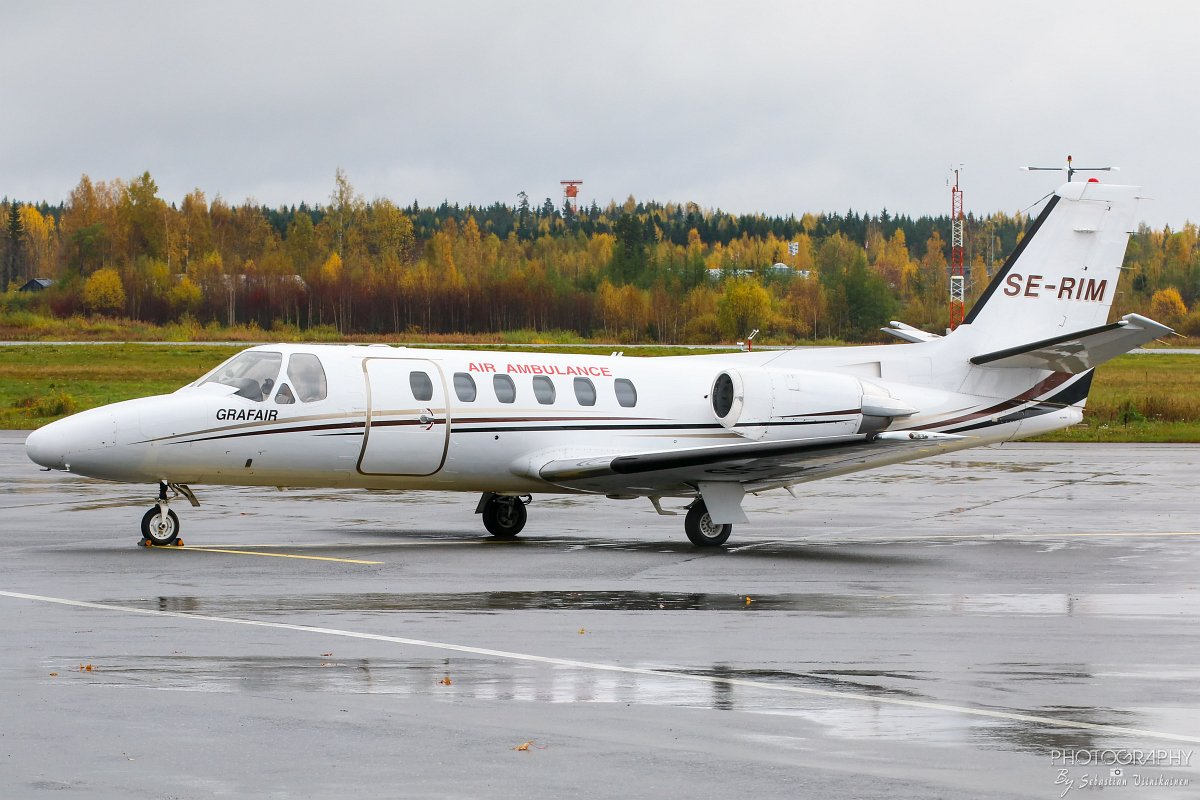 SE-RIM Grafair Cessna 550 Citation II, 10.10.2017