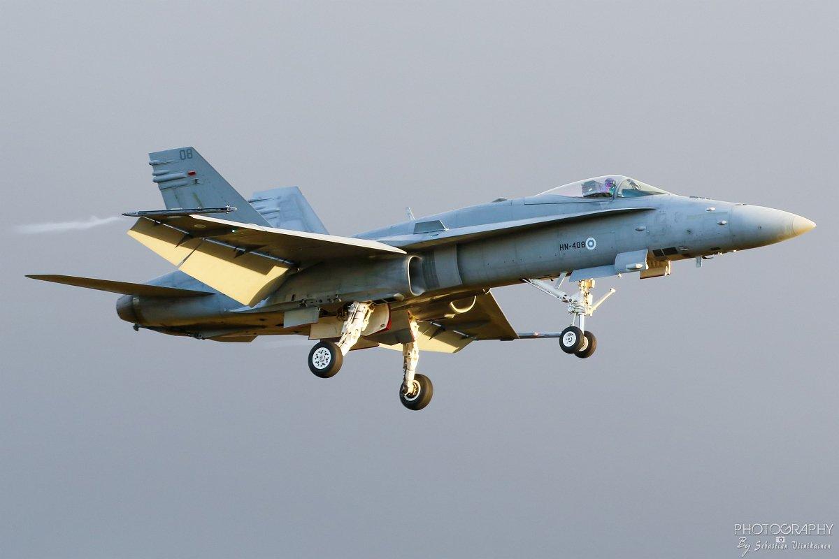 HN-408 F-18C Hornet, 11.10.2017