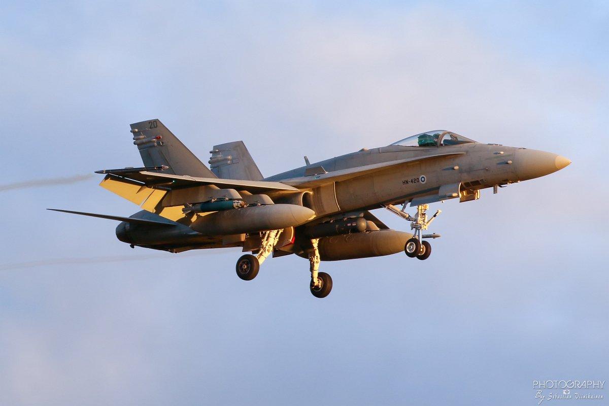 HN-420 F-18C Hornet, 11.10.2017