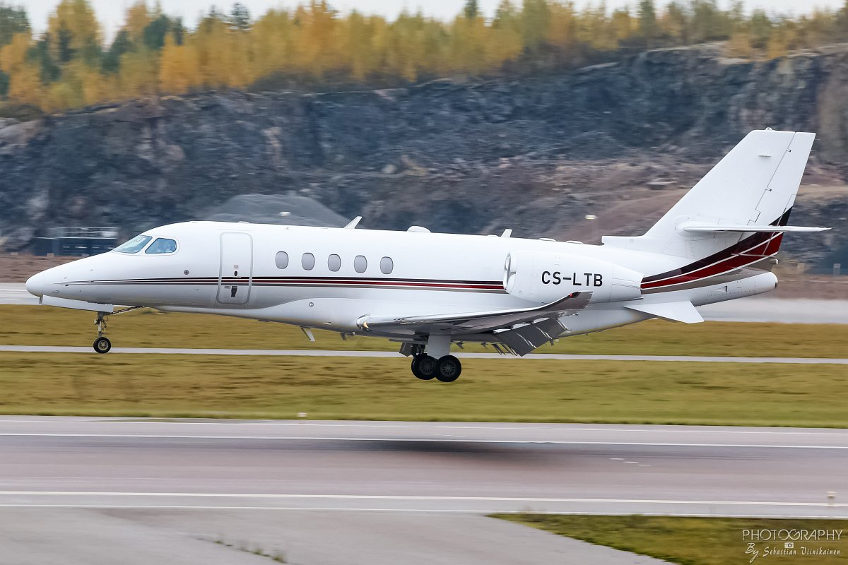 CS-LTB NetJets Cessna 680 Citation Latitude, 12.10.2017