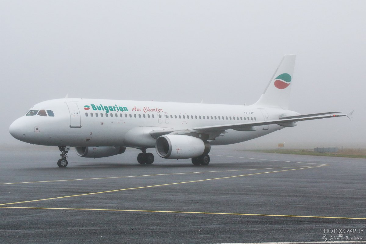 LZ-LAC Bulgarian Air Charter A320-200, 21.10.2017