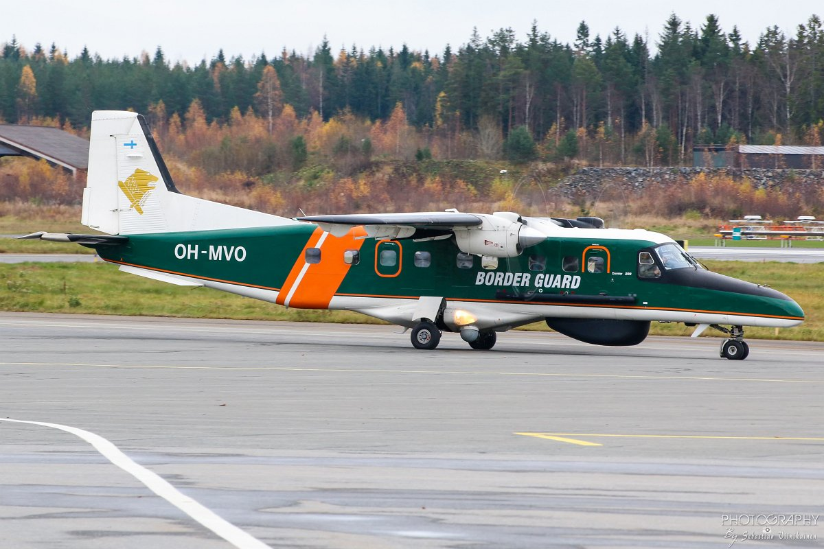 OH-MVO Rajavartiolaitos Dornier Do-228, 23.10.2017