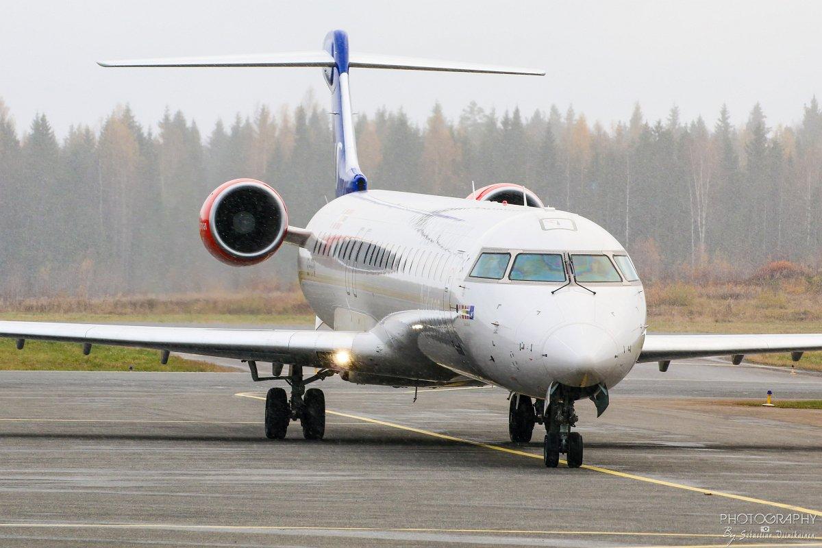 EI-FPA SAS Canadair CRJ-900, 23.10.2017
