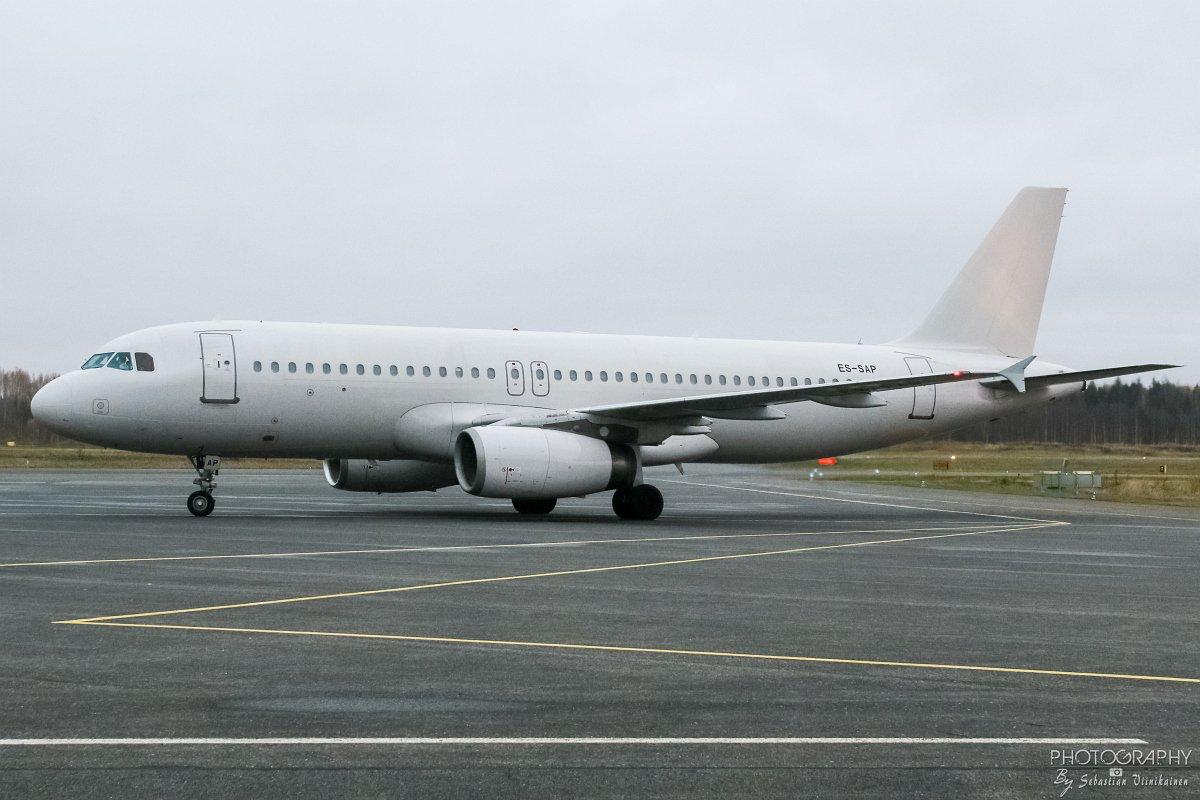 ES-SAP SmartLynx Estonia A320-200, 23.10.2017