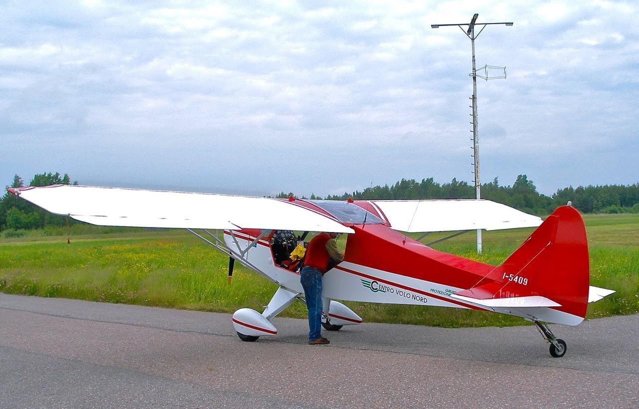 Zlin Aviation Savage 912 I-5409 EFHN 2006-07-22