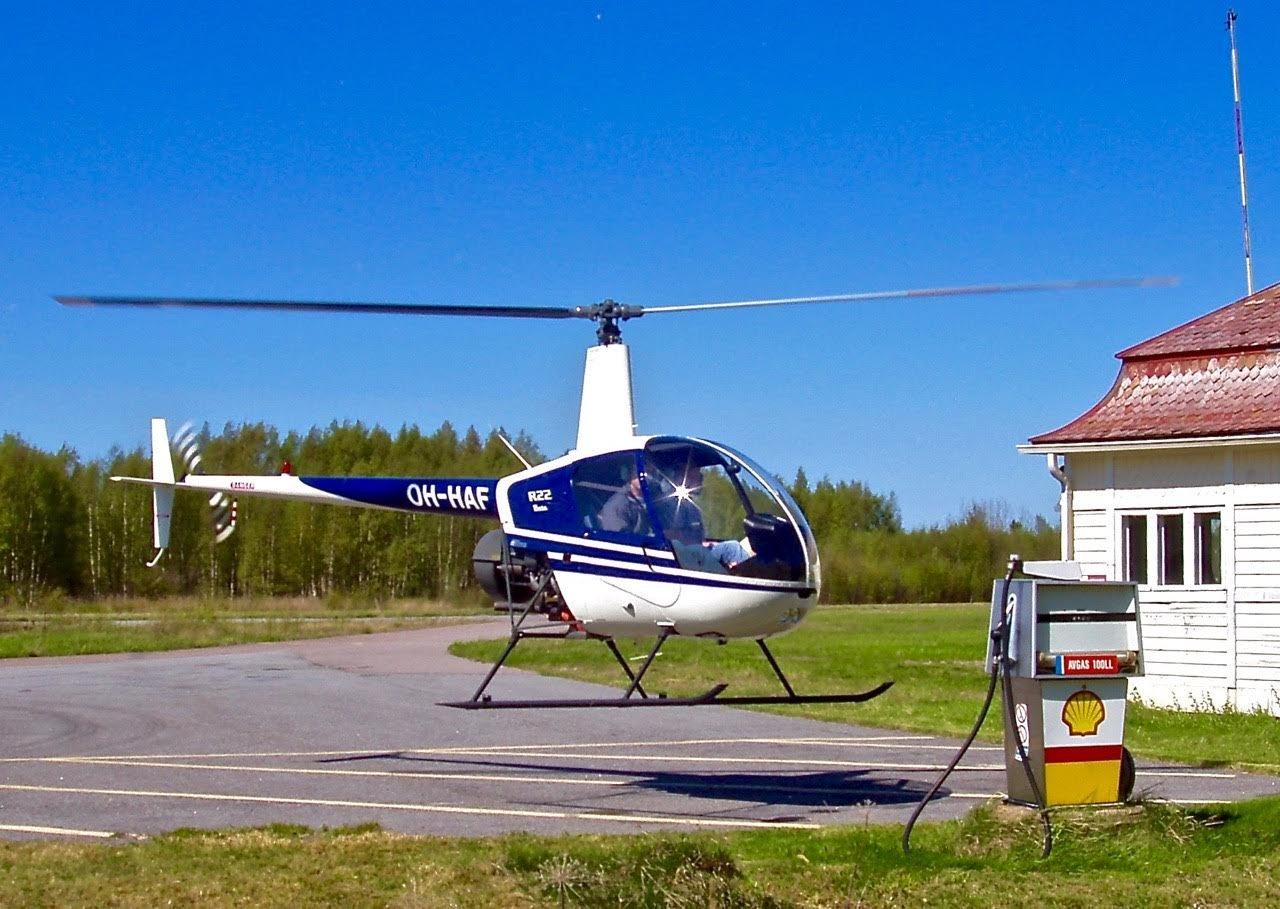 Robinson R22 Beta OH-HAF EFHN 2003-05-27
