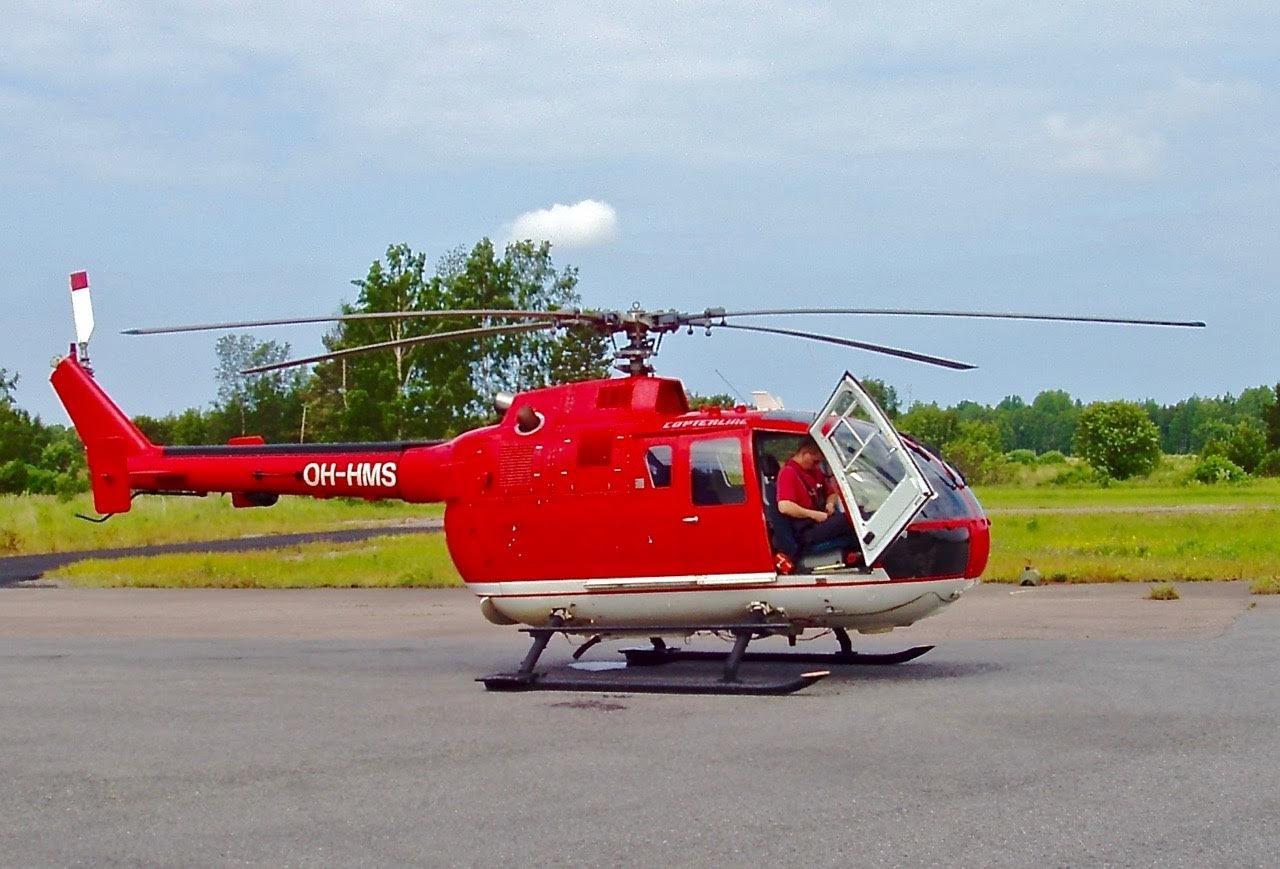 MBB BO-105CBS-4 OH-HMS EFHN 2003-07-02