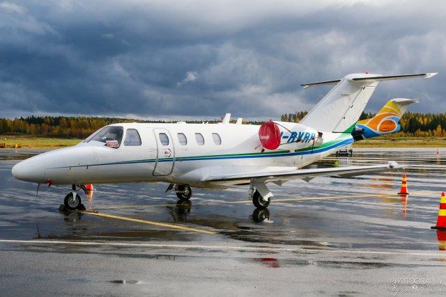I-RVRP Cessna 525 CitationJet 1, 04.10.2017