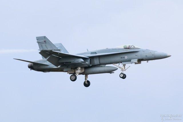 HN-411 F-18C Hornet, 10.10.2017