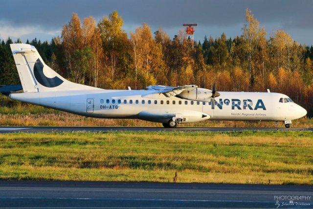OH-ATG Norra ATR 72-500, 11.10.2017