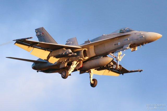 HN-411 F-18C Hornet, 11.10.2017