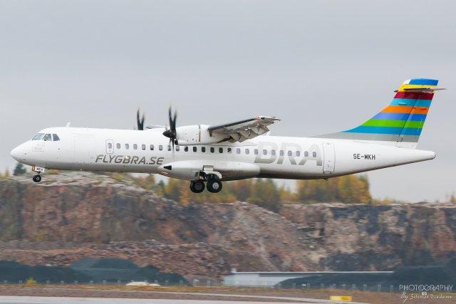 SE-MKH Braathens Regional ATR72-600, 12.10.2017