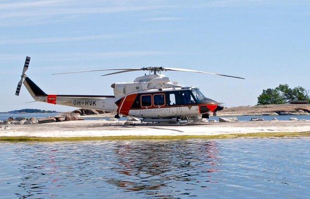 Bell 412EP OH-HVK Hanko 2008-06-01