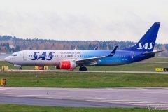 LN-RGI SAS B737-800, 12.10.2017