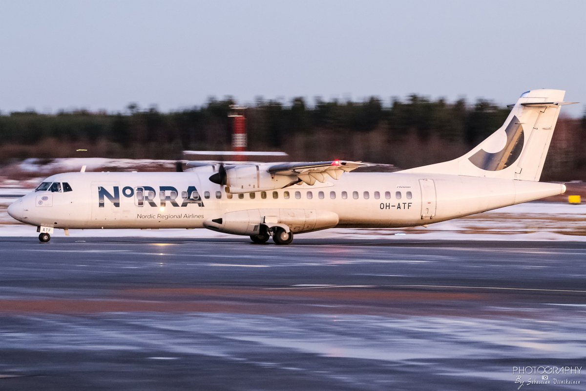 OH-ATF Norra ATR72-500, 03.11.2017