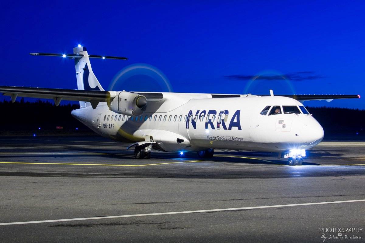 OH-ATF Norra ATR72-500, 7.11.2017
