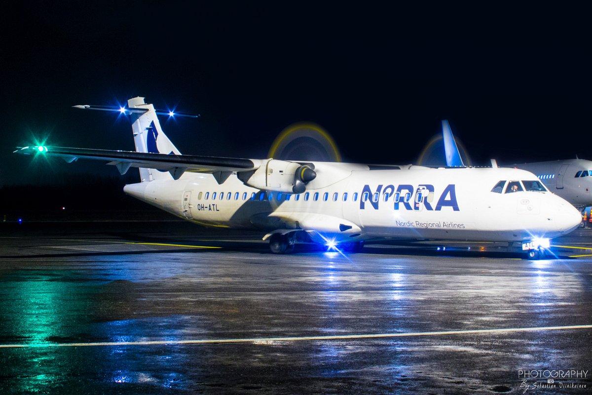 OH-ATL Norra ATR72-500, 29.11.2017