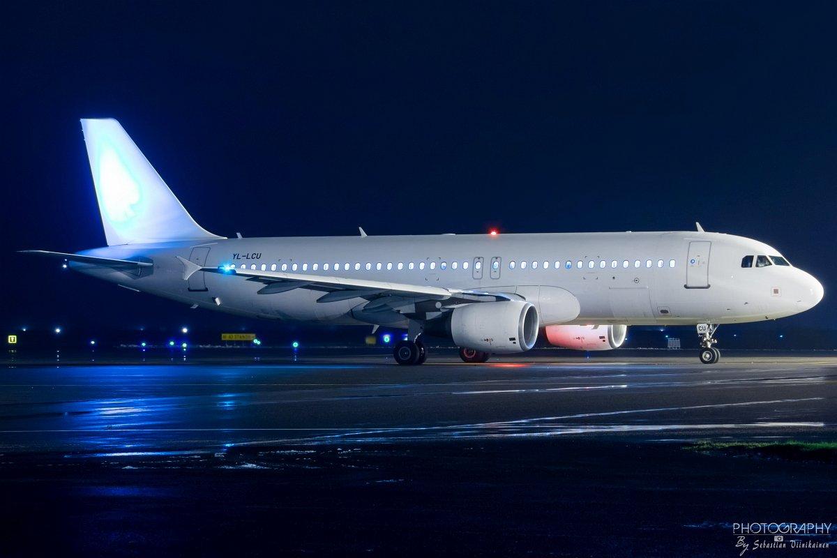 YL-LCU SmartLynx A320-200, 29.11.2017