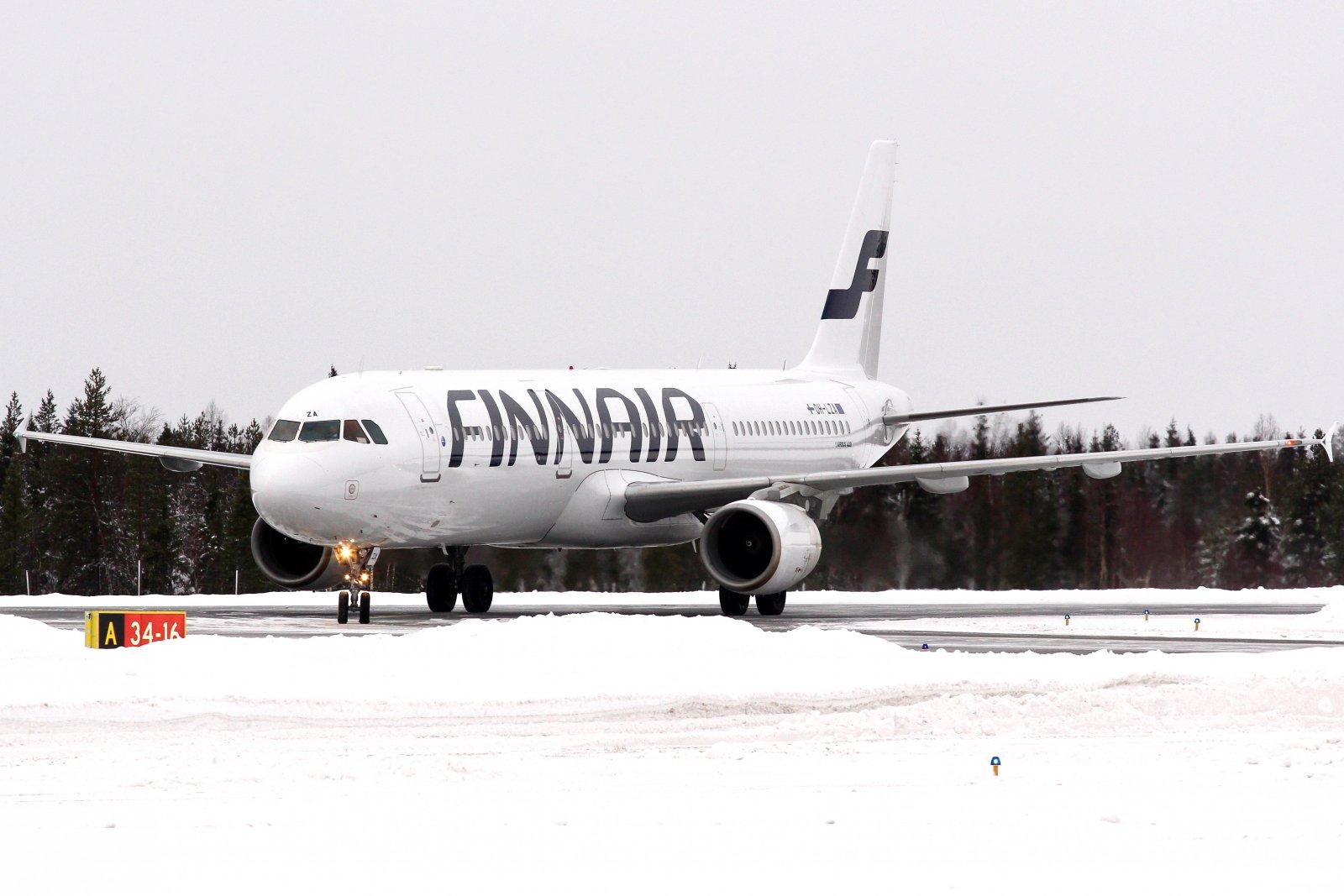 25.11 OH-LZA Finnair Airbus A321-211