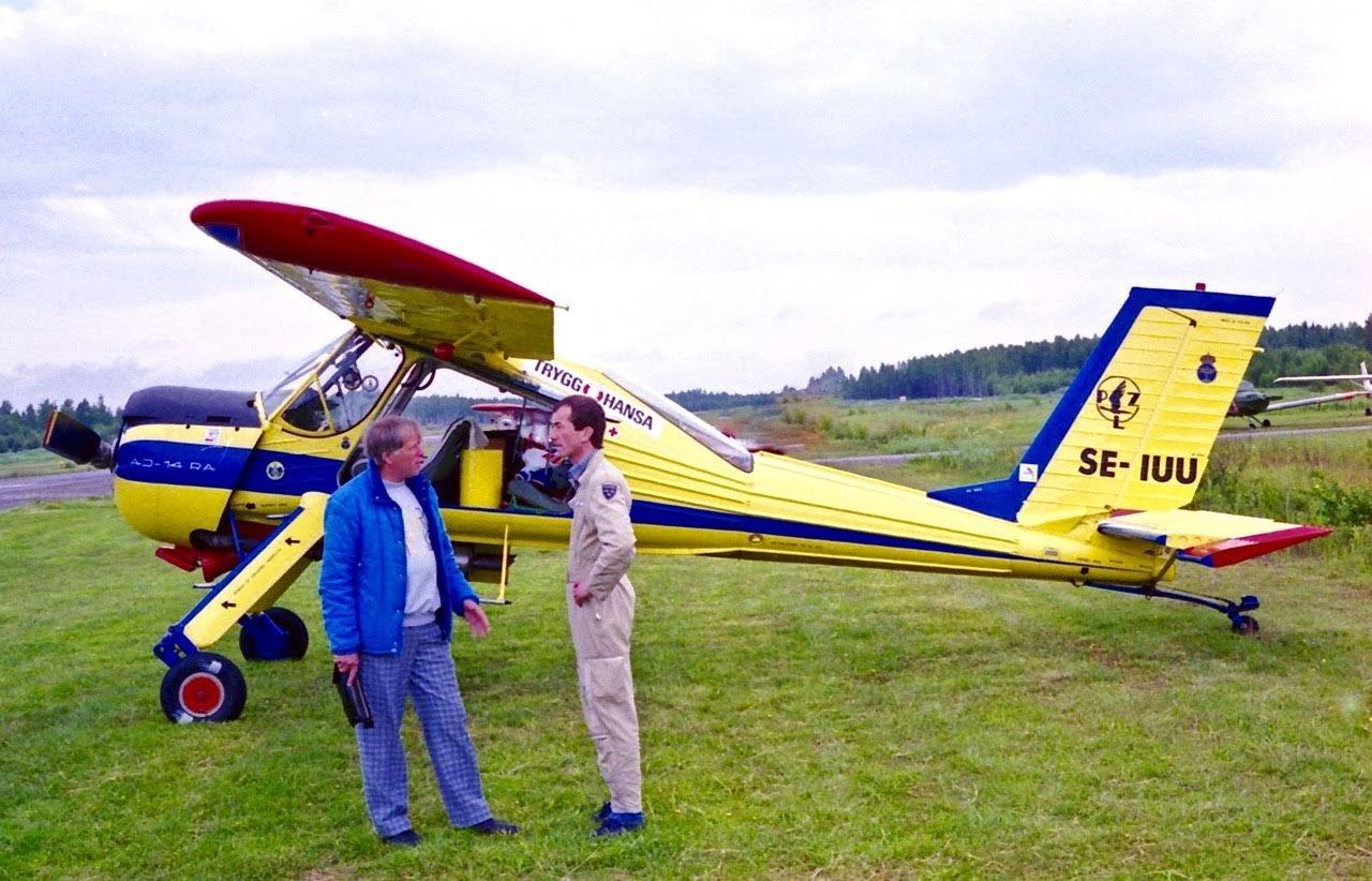 PZL-104 Wilga 35 SE-IUU EFHN 1993-06-05