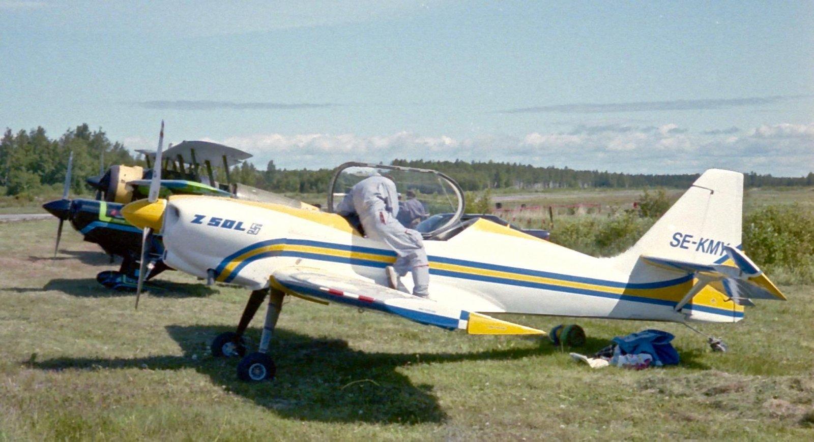 Zlin 50 SL SE-KMY EFHN 1993