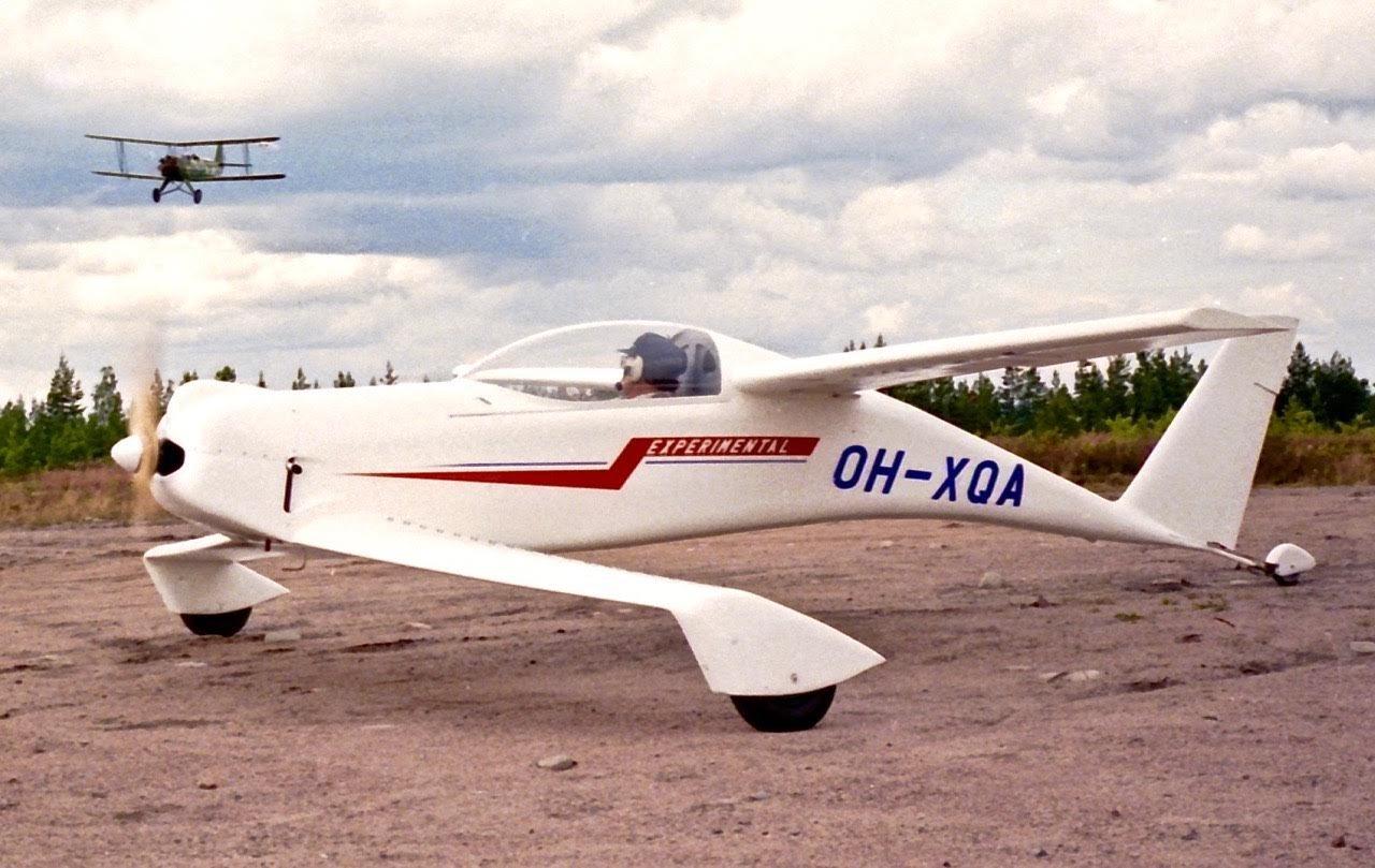 QAC Quickie Q1 OH-XQA EFHN 1989