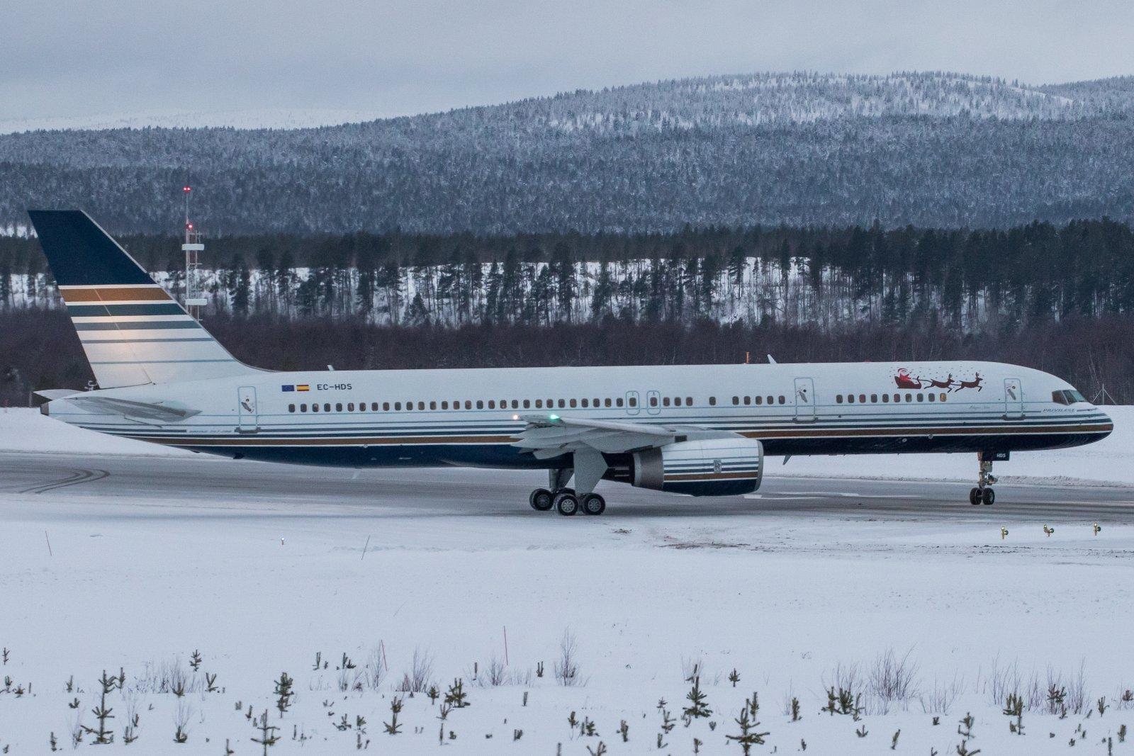 EC-HDS. Boeing 757-256