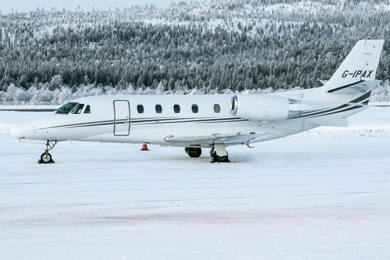 G-IPAX. Cessna Citation Excel 560XL