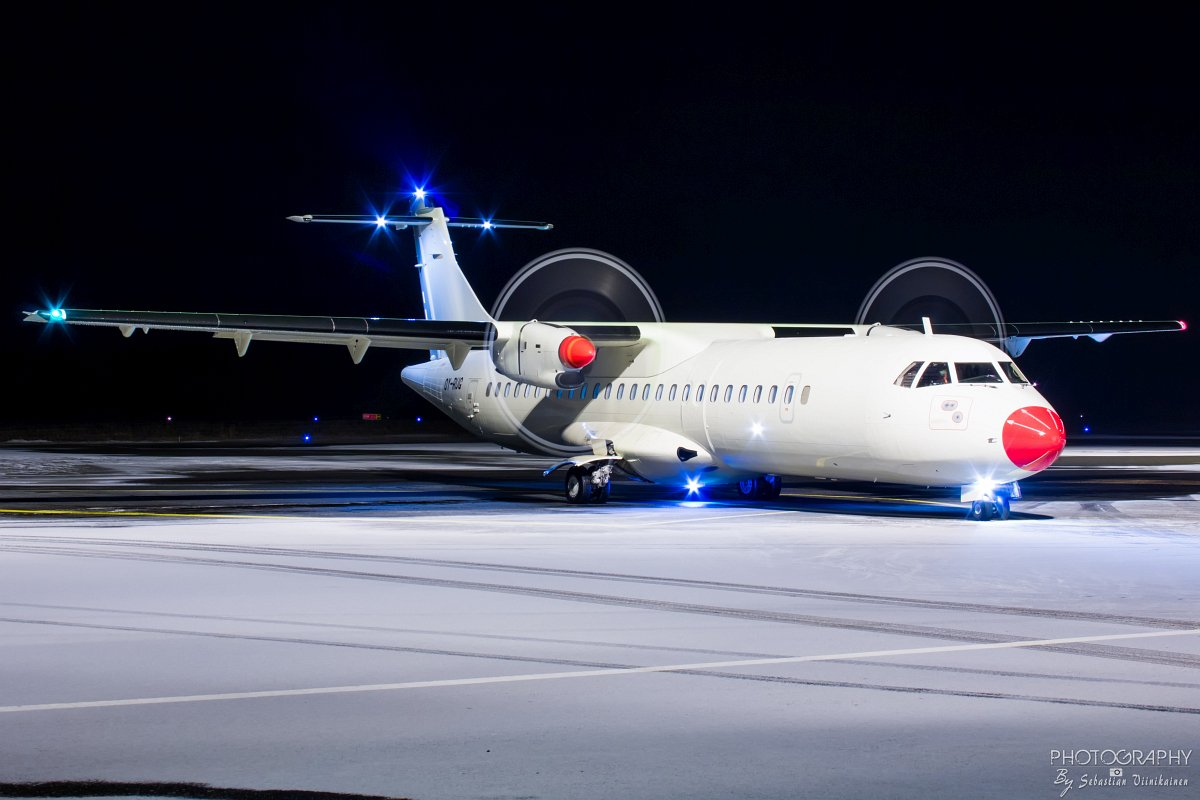 OY-RUG Danish Air Transport (DAT) ATR72-200, 04.12.2017