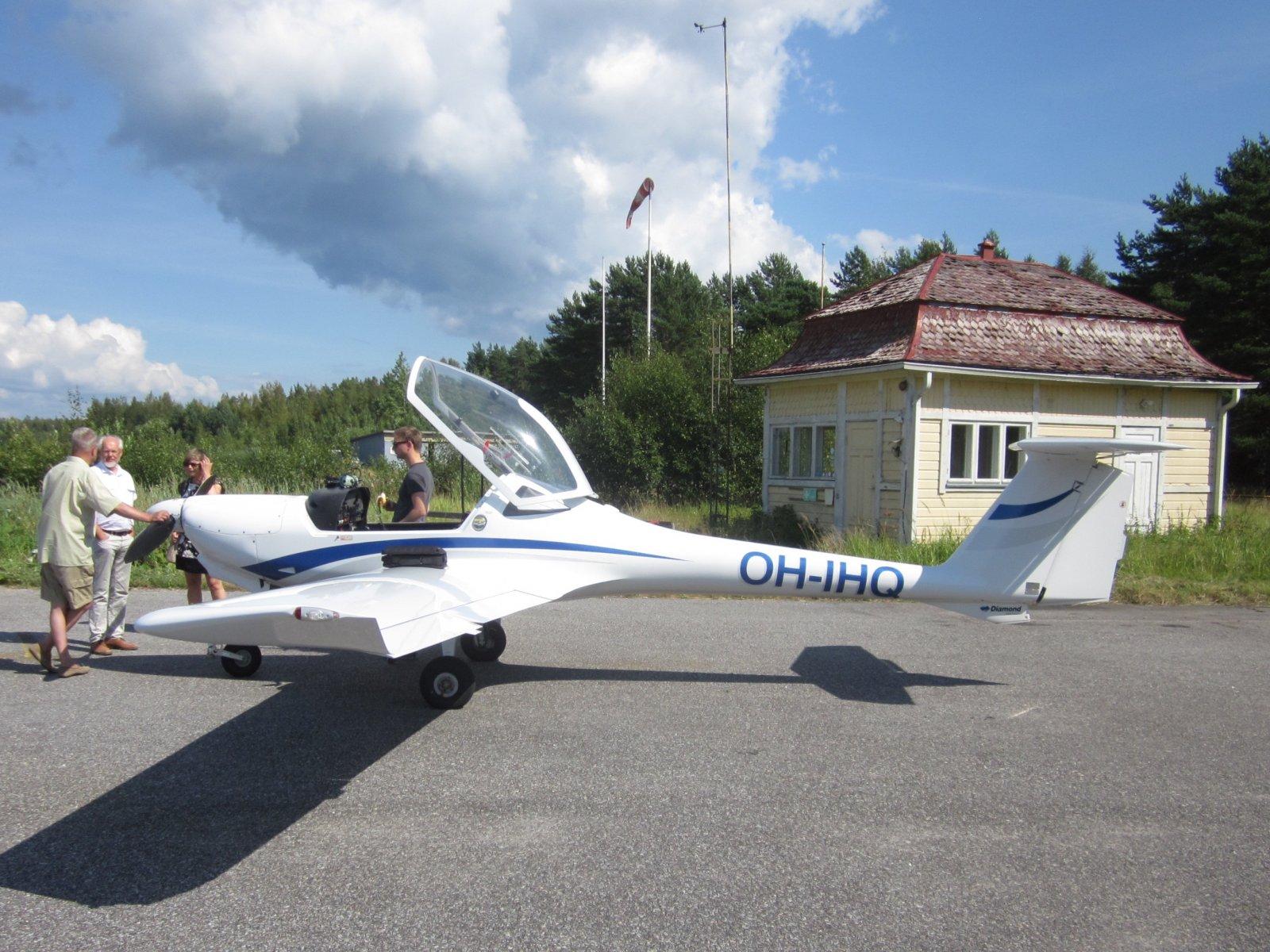Diamond DA-20-A1 Katana OH-IHQ EFHN 2014-08-08