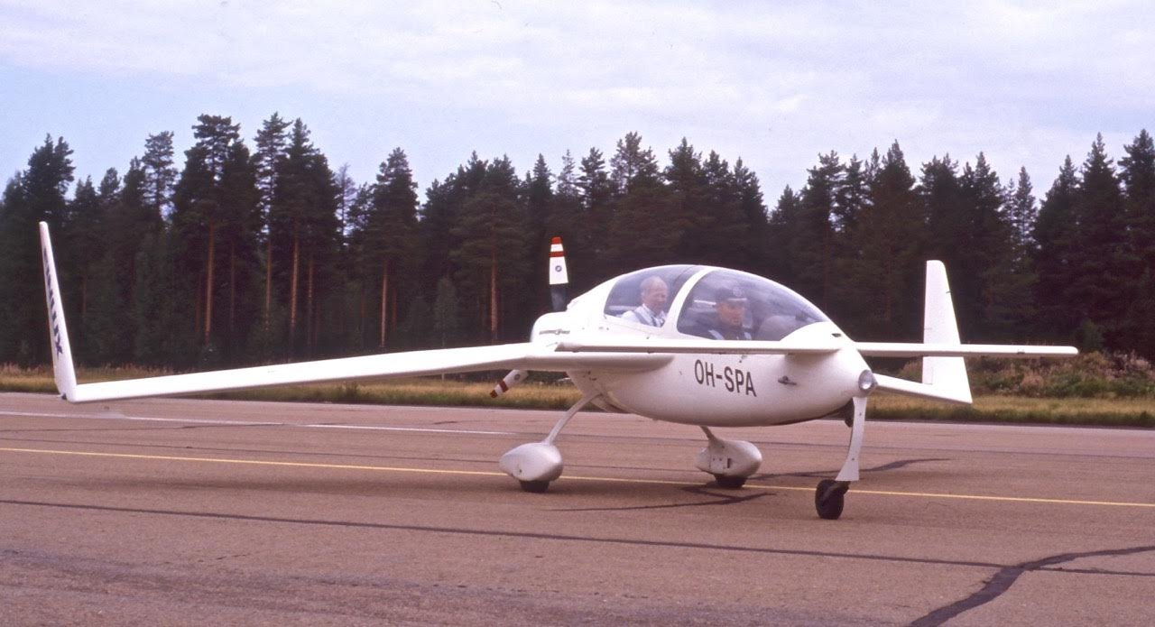 Gyroflug SC-01B Speed Canard OH-SPA EFHA 1988