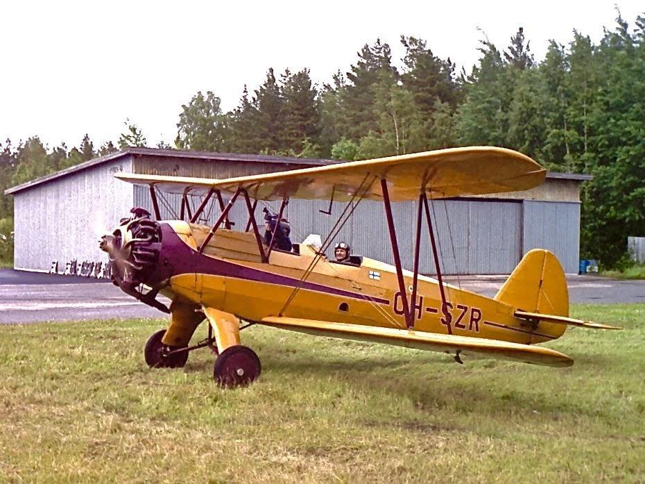 Focke-Wulf FW 44J Stieglitz OH-SZR EFHN 2000-07-01