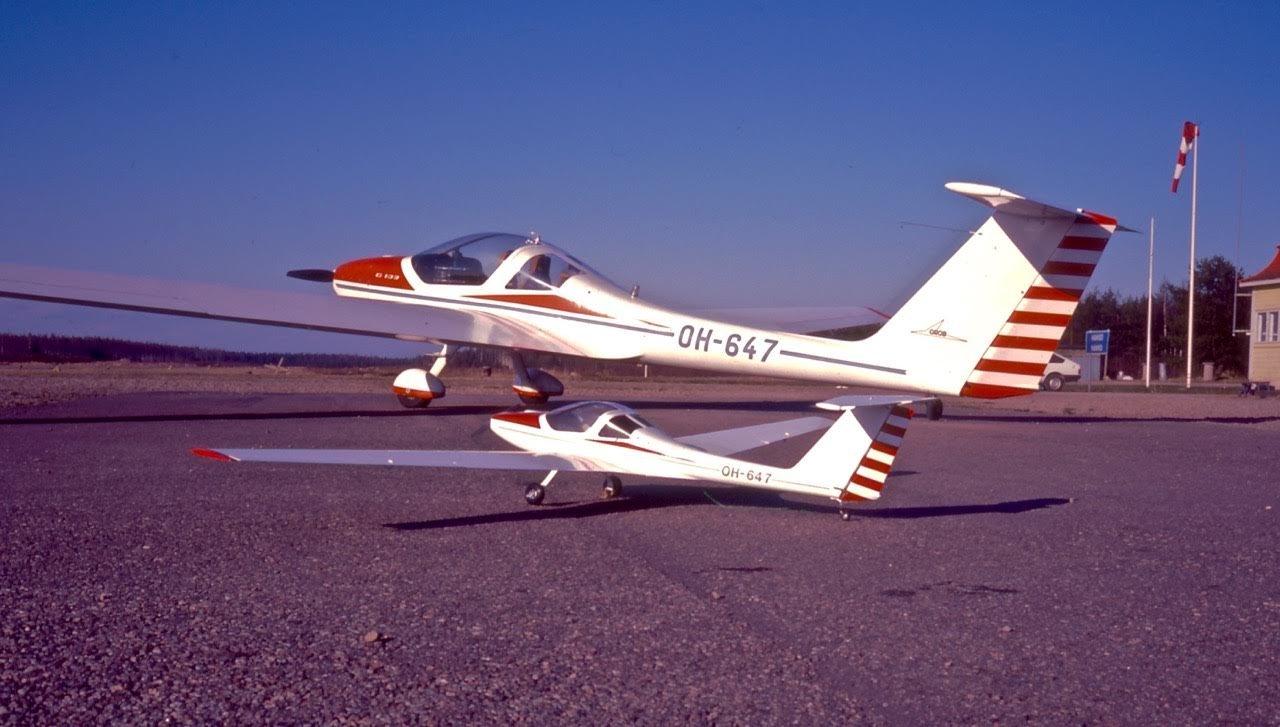 Grob 109 OH-647 EFHN 1986