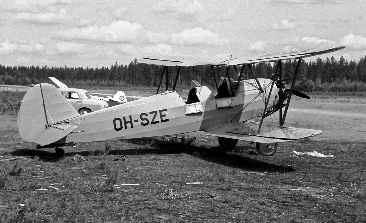 Focke-Wulf FW 44J Stieglitz OH-SZE EFIK 1970s