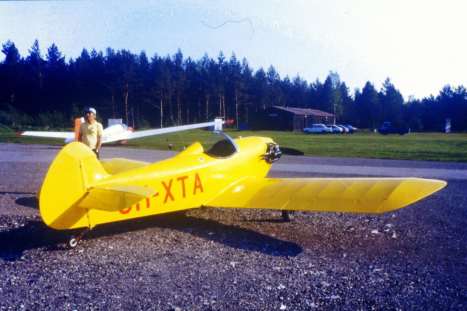 Taylor JT1 Monoplane OH-XTA EFHN 1987-07-25