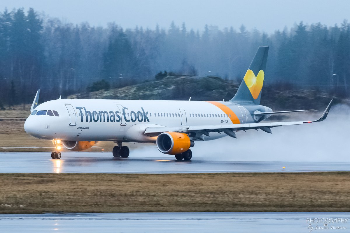 OY-TCF Thomas Cook Airlines Scandinavia Airbus A321-200, 02.01.2018