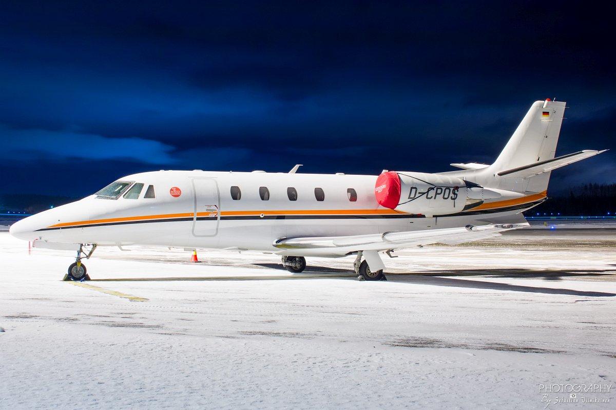D-CPOS Cessna 560XL Citation XLS, 08.01.2018