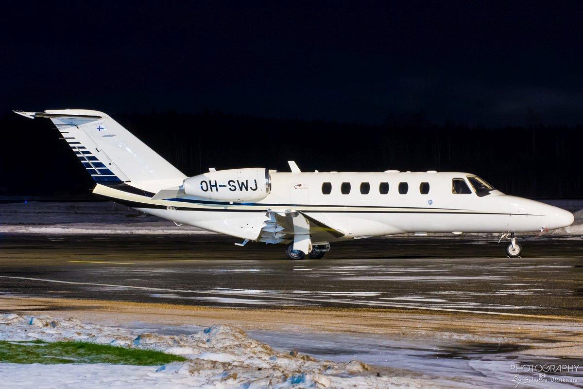 OH-SWJ Scanwings Cessna 525A CitationJet CJ2+, 25.01.2018