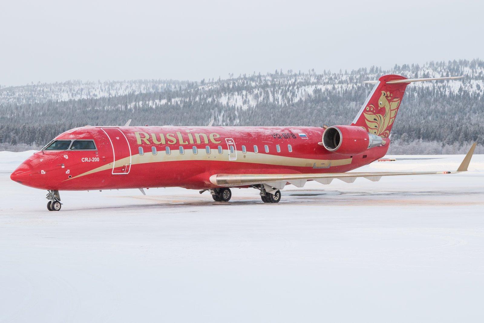 VQ-BFB. Valmis takaisin Moskovaan.